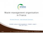 Prantsusmaa radioaktiivsete jäätmete käitlemise süsteem
