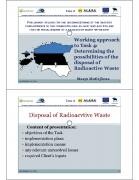 Tegevus 4: Radioaktiivsete jäätmete lõppladustamise võimaluste väljaselgitamine