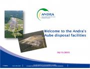 Ülevaade Prantsusmaa, Aube radioaktiivsete jäätmete lõppladustuspaikadest CSA ja Cires