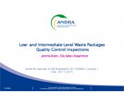 CSA lõppladustuspaik: jäätmepakendite kontroll vastavusnäitajatele
